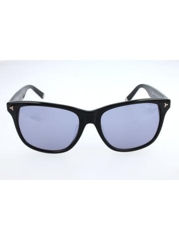 Bally Dameszonnebril zwart/blauw