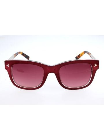 Bally Dameszonnebril rood-bruin/rood
