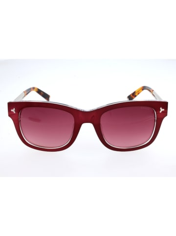 Bally Damen-Sonnenbrille in Rot-Braun/ Rot
