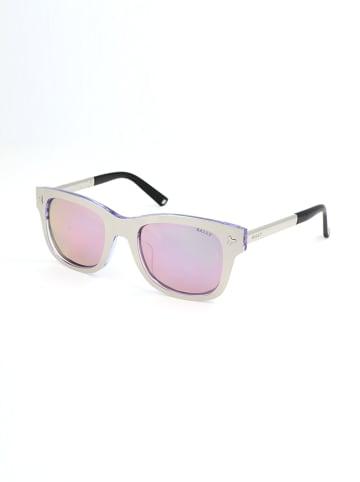 Bally Dameszonnebril zilverkleurig/lichtroze