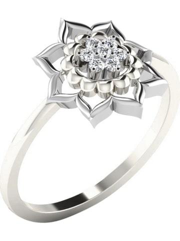 Royal Diamant Weißgold-Ring mit Diamant