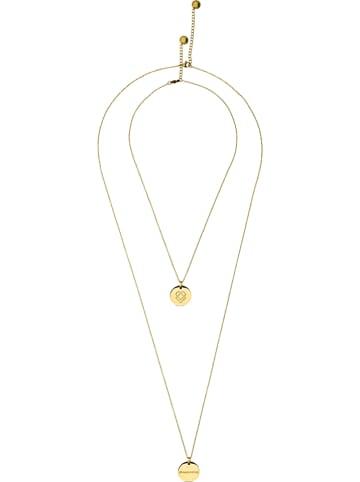 Liebeskind Halskette mit Anhängern - (L)45 cm