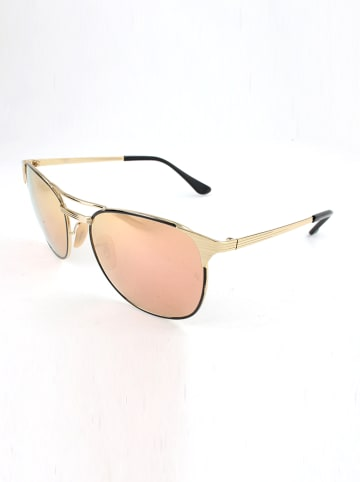 Ray Ban Herren-Sonnenbrille in Gold/ Orange