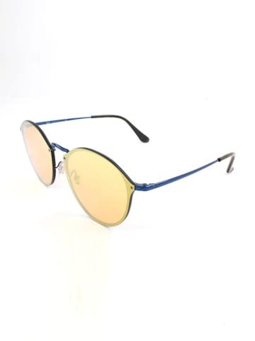 Ray Ban Dameszonnebril blauw-bruin/geel