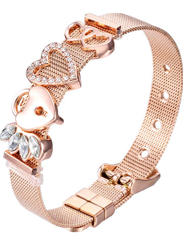 Steel_Art Gecoate armband met sierelementen