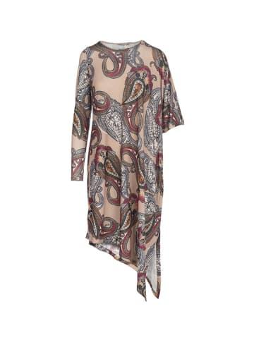 Tova Sukienka w kolorze beżowym ze wzorem