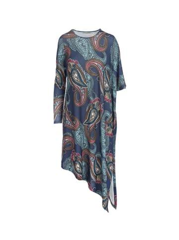 Tova Sukienka w kolorze granatowym ze wzorem