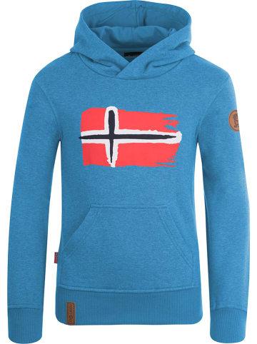 """Trollkids Bluza """"Trondheim"""" w kolorze niebieskim"""