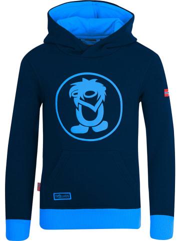 """Trollkids Hoodie """"Troll"""" in Dunkelblau/ Blau"""
