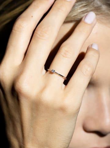 """DIAMANTA Witgouden ring """"Pure"""" met diamant"""