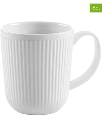 Bodum Kubki (2 szt.) w kolorze białym do kawy - 350 ml