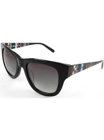Missoni Damen-Sonnenbrille in Schwarz-Bunt/ Grau