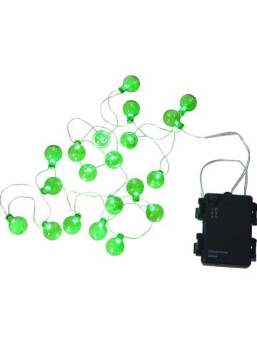 """Best Season Łańcuch świetlny LED """"Globe"""" w kolorze zielonym - dł. 190 cm"""