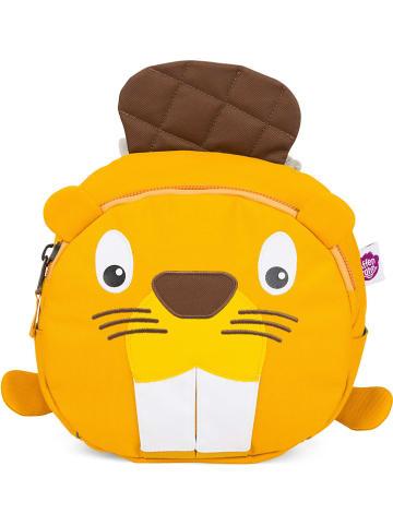 """Affenzahn Kindergartenrucksack """"Ben Biber"""" in Orange - (B)31 x (H)22 x (T)8 cm"""