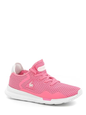 "Le Coq Sportif Sneakers ""Solas"" in Pink/ Weiß"