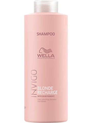 "Wella Professional Shampoo ""Blonde Recharge Cool"", 1000 ml"