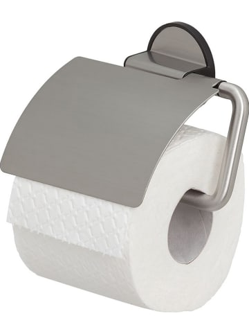 "Tiger Roestvrijstalen toiletrolhouder ""Tune"" zilverkleurig - (B)15 x (H)12,3 cm"