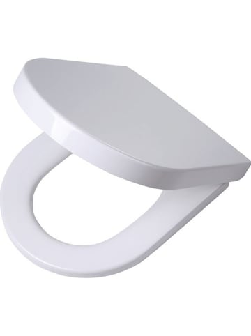 "Tiger Toiletbril ""Memphis"" met softclose dekselsluiting wit - (L)45 x (B)35 cm"