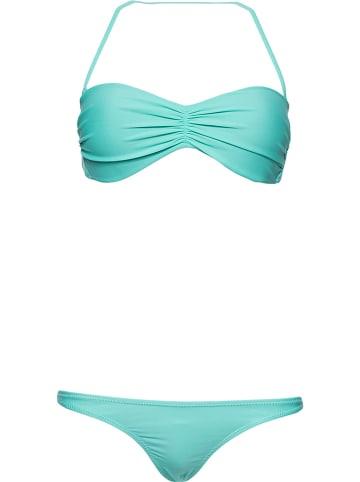 "OCEAN BLUE Bikini ""Black Orchid"" turquoise"