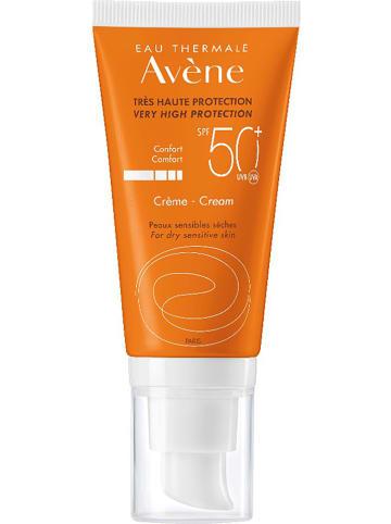 Avène Krem przeciwsłoneczny do twarzy - SPF 50+ - 50 ml