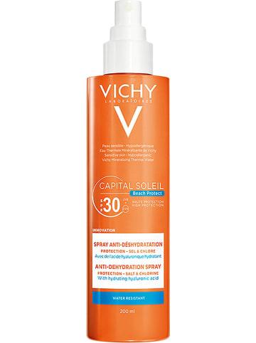 """Vichy Spray przeciwsłoneczny """"Capital Soleil Beach Protect"""" - SPF 30 - 200 ml"""