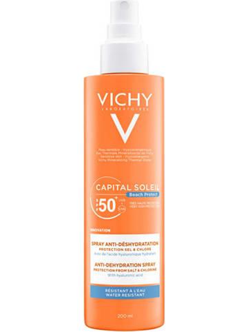 """Vichy Spray przeciwsłoneczny """"Capital Soleil Beach Protect"""" - SPF 50+ - 200 ml"""
