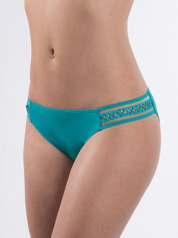 "Aubade Bikinislip ""Rose des Sables"" turquoise"