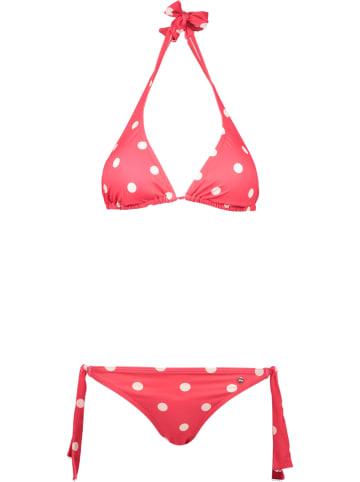 S.Oliver Bikini in Rot/ Weiß