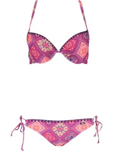 Buffalo Bikini paars/roze