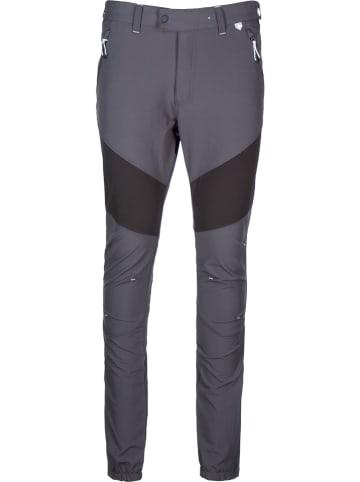 """Regatta Spodnie przeciwdeszczowe """"Mountain"""" - Regular - w kolorze ciemnoszarym"""