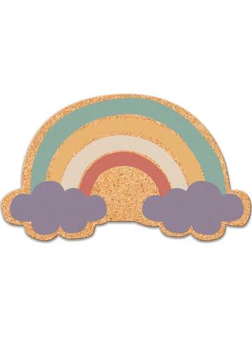 "Little nice things Pinnwand ""Rainbow"" in Bunt - (B)50 x (H)50 cm"
