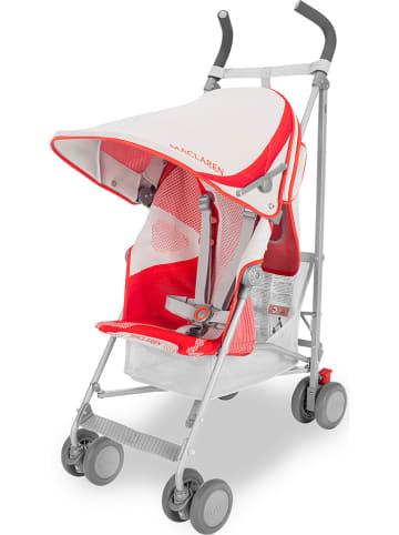 """MACLAREN Spacerówka """"Wing Knit"""" w kolorze biało-czerwonym"""