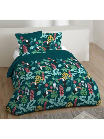 """My Home Beddengoedset """"Java"""" groen"""