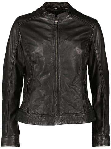 "7eleven Leren jas ""Sari"" zwart"