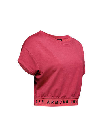 Under Armour Trainingsshirt roze