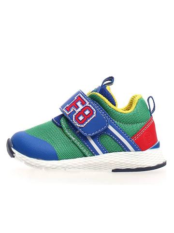 Naturino Sneakers in Blau/ Grün