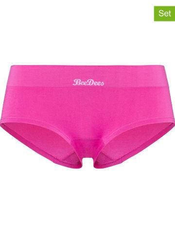 BeeDees 2er-Set: Pantys in Pink