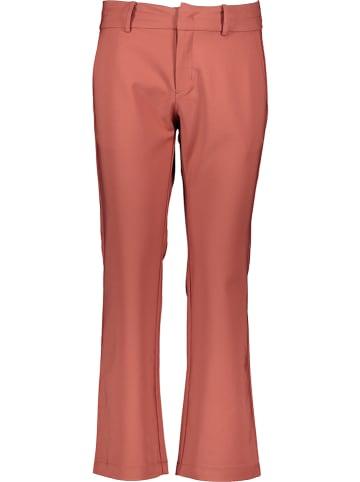 """NÜMPH Spodnie """"Babajune"""" w kolorze czerwonym"""