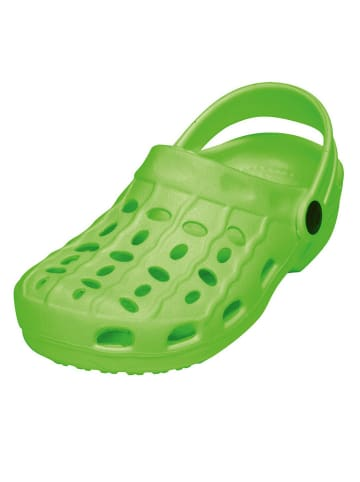 Playshoes Clogs groen