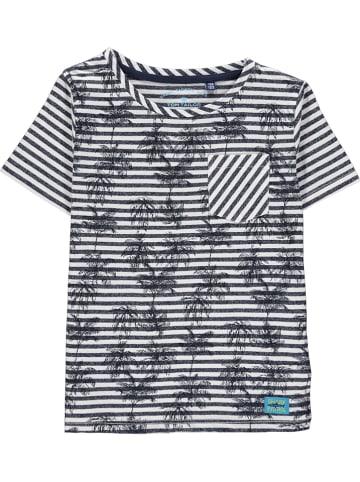 Tom Tailor Shirt blauw/grijs