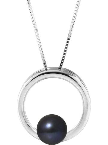 Pearline Srebrny naszyjnik z perłą - dł. 42 cm