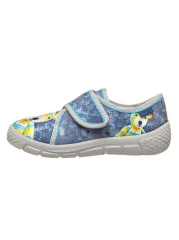 Richter Shoes Pantoffels grijs/geel