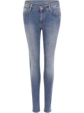 Coster Copenhagen Spijkerbroek - skinny fit - lichtblauw