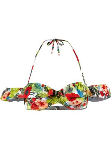 Beachlife Biustonosz bikini ze wzorem