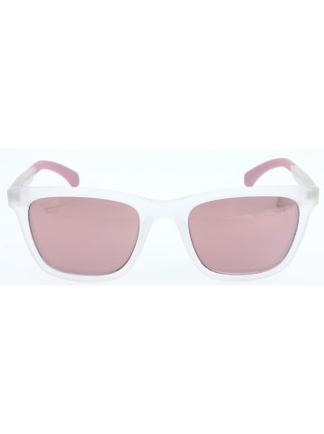 Calvin Klein Unisex-Sonnenbrille in Rosa-Transparent/ Rosa