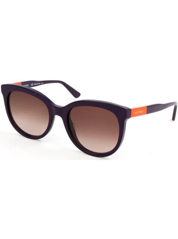 Etro Damen-Sonnenbrille in Lila-Orange/ Braun