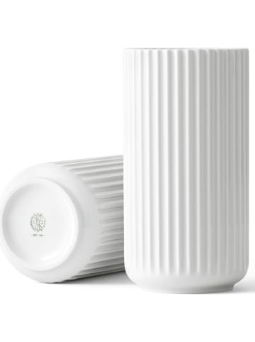 LYNGBY Vase in Weiß - (H)20,5 cm