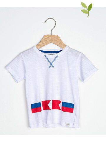 """Ebbe Koszulka """"Gologo"""" w kolorze białym"""