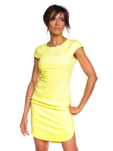 "100% Jeans Kleid ""Aurelie"" in Gelb"