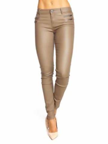 """Scarlet Jones Jeans """"Frieda"""" - Slim fit - in Taupe"""